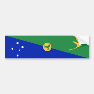 Christmas Island Flag. Commonwealth of Australia Bumper Sticker