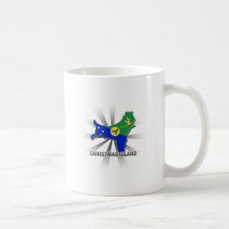 Christmas Island Flag Map 2.0 Coffee Mug