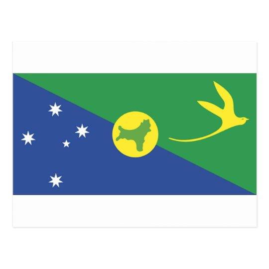 Christmas Island Flag Postcard