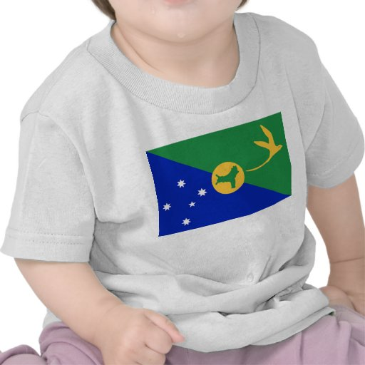 Christmas Island Flag T-shirts