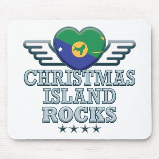Christmas Island Rocks v2 Mouse Mats