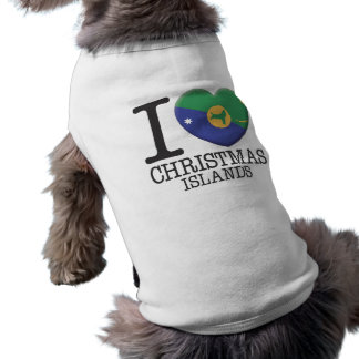 Christmas Islands Doggie T-shirt
