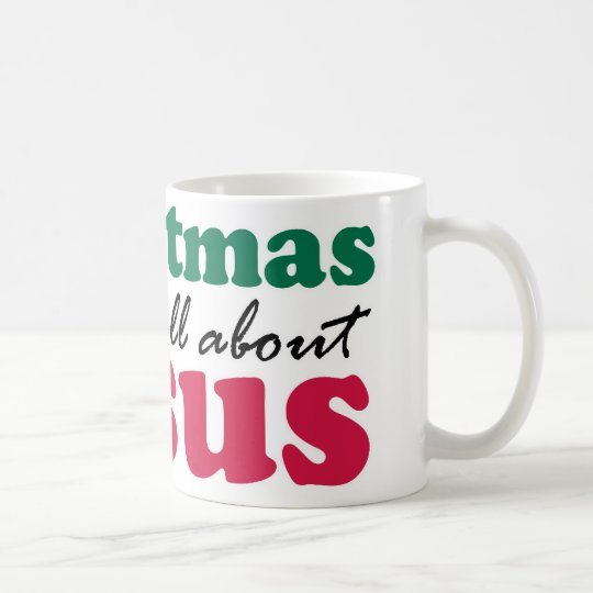 Christmas - It's all about Jesus Coffee Mug
