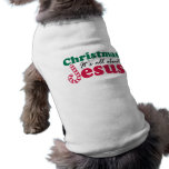 Christmas - It's all about Jesus Pet Clothes