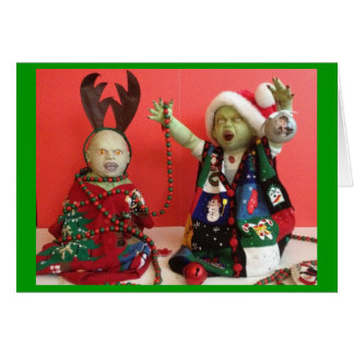 Christmas: It's not just for the living anymore - Greeting Card