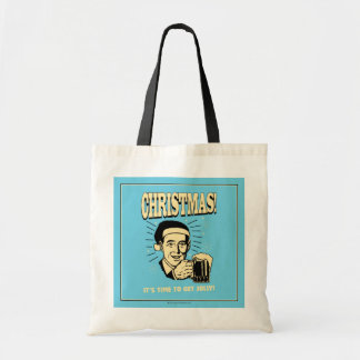 Christmas: It's Time To Get Jolly Canvas Bags