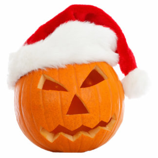 Christmas Jack-O-Lantern Ornament