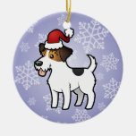 Christmas Jack Russell Terrier Christmas Tree Ornament