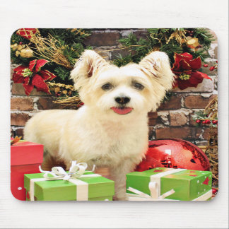 Christmas - Jack Russell Westie X - Lady Mouse Pad