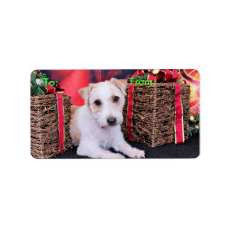 Christmas - Jack Russell - Wiley Labels