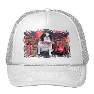 Christmas - Japanese Chin - Oreo Trucker Hat