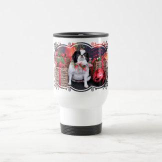 Christmas - Japanese Chin - Oreo Mug