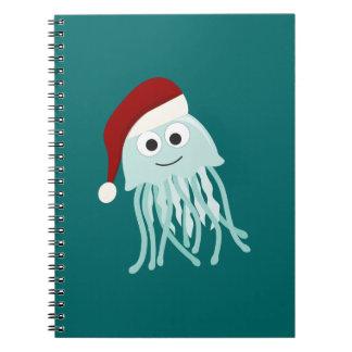 Christmas Jellyfish Notebook