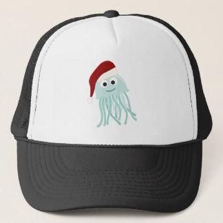 Christmas Jellyfish Trucker Hat