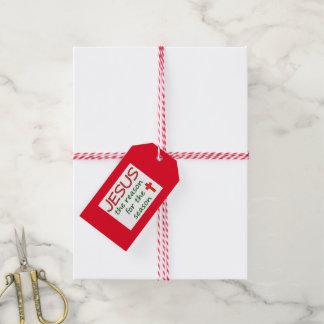Christmas Jesus Reason for Season Gift Tags