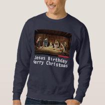 Christmas Jesus Sweatshirt