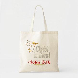 Christmas Jesus Tote Bag