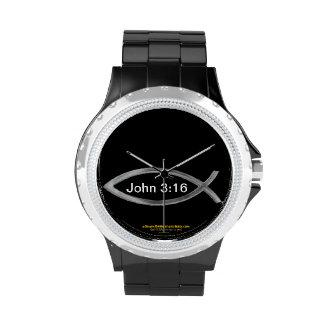 Christmas Jesus Wristwatch