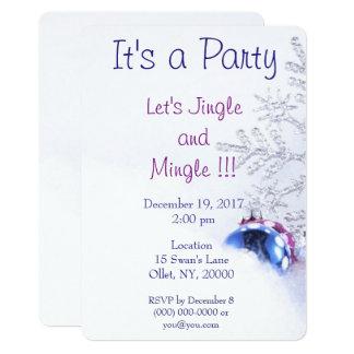Christmas Jingle Party Card