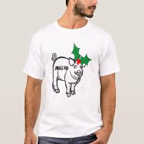 Christmas Jingle Pig T-Shirt