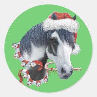 Christmas-Jingle-Ziggy Classic Round Sticker