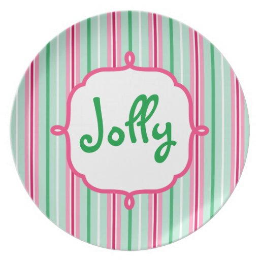 Christmas Jolly Plate