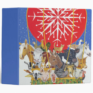 Christmas Journey 3 Ring Binder