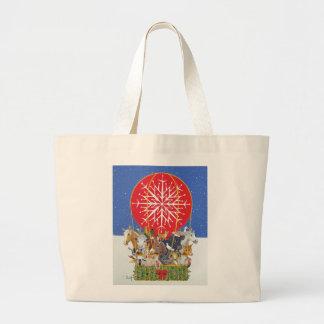 Christmas Journey Large Tote Bag