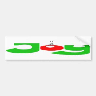 Christmas Joy Bumper Sticker