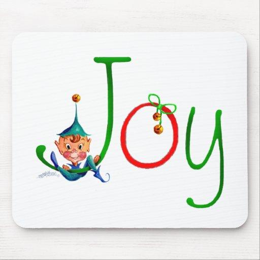 CHRISTMAS JOY by SHARON SHARPE Mouse Pad