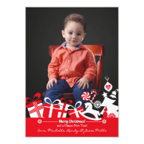 Christmas Joy Photo Holiday Card