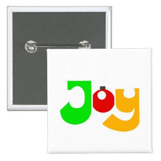 Christmas Joy Pinback Button