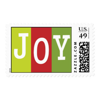 Christmas Joy Postage Stamp