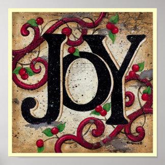 Christmas Joy ~ Print / Poster