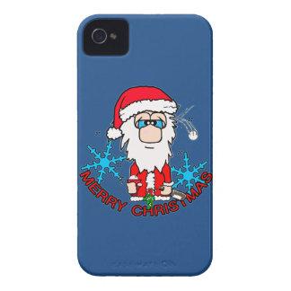 Christmas joy santa Case-Mate iPhone 4 case
