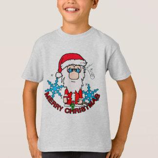 Christmas joy santa T-Shirt