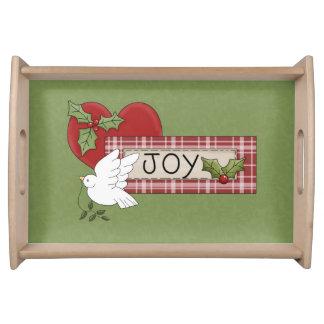 Christmas Joy Serving Tray