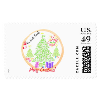 """Christmas """"Joy to the World"""" Cookie Stamp"""
