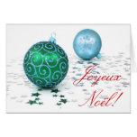 Christmas Joyeux Noel Cards