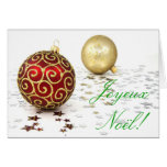 Christmas Joyeux Noel I Greeting Cards
