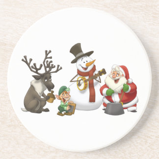 Christmas Jug Band Coaster