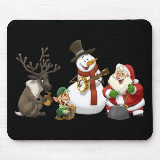 Christmas Jug Band Mousepad