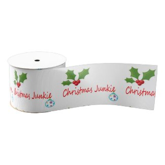 Christmas Junkie Ribbon