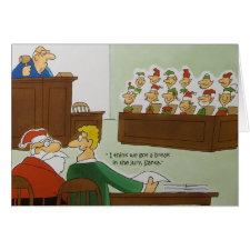 Christmas Jury Card