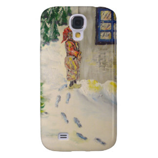 Christmas just round the Corner Samsung Galaxy S4 Cover