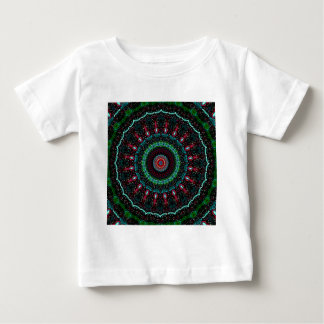 Christmas Kaleidoscope Baby T-Shirt