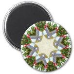 Christmas Kaleidoscope Magnets