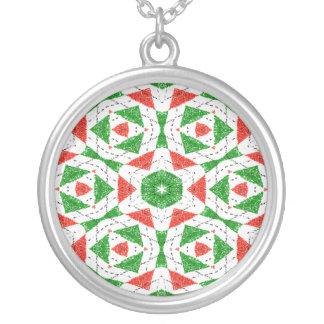CHRISTMAS KALEIDOSCOPE Necklace