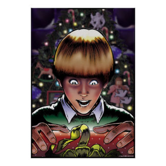 Christmas Kid Poster