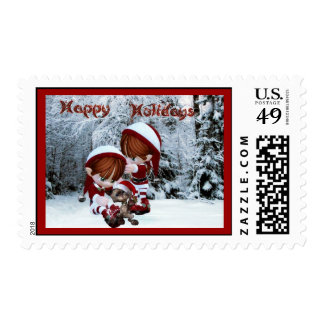 Christmas Kids Stamps